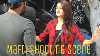 Mafti Kannada movie shooting