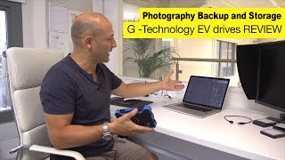 Karl Taylor reviews G-technology EV drives and dock.