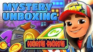 💰 Opening Mystery Boxes in Hong Kong - Subway Surfers Mystery Unboxing
