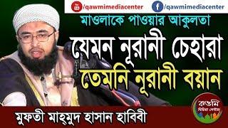 যেমন নূরানী চেহারা তেমনি নূরানী বয়ান - Mufti Mahmud Hasan Habibi    01731444025