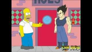 Homero vs Vegeta