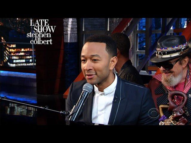 John Legend Makes Mundane Things Sound Sexy