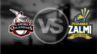 Peshawar Zalmi vs Lahore Qalandars 6th Match Live Cricket
