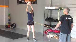 How to Hit a Volleyball Harder - Better Arm Swing - Performance Training #1