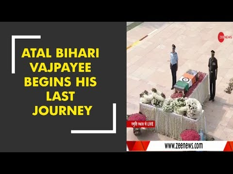 Xxx Mp4 The Mortal Remains Of Former PM Atal Bihari Vajpayee Being Taken To Smriti Sthal For Funeral 3gp Sex
