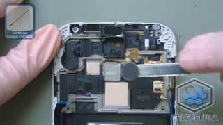 Como Desmontar o Samsung Galaxy S4 i9500,  i9505 - TELECELULA