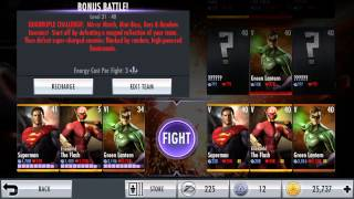 Injustice how to farm credits fast easy all lvl