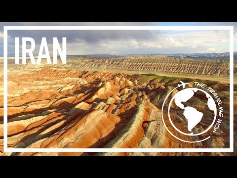 Rainbow mountains, Kandovan, hitchhiking and camping in Iran - A Wop in Iran 25 - The Traveling Wop