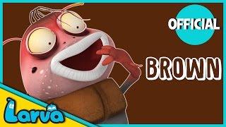 LARVA - MEET BROWN | Larva Funny Cartoons For Kids | Cartoons For Children | LARVA Official