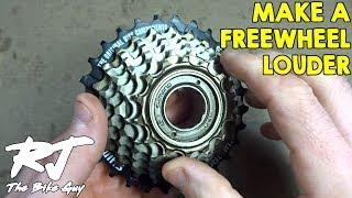 How To Make A Freewheel Louder