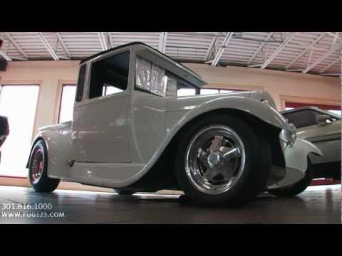 1929 Ford Custom Pickup for sale Flemings with test drive driving sounds and walk through video