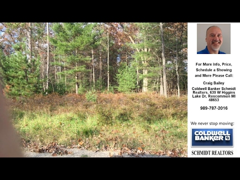 XXX JAMES SQUARE DR, Roscommon, MI Presented by Craig Bailey.