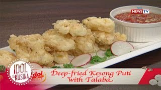 Idol sa Kusina: Deep-fried Kesong Puti with Talaba