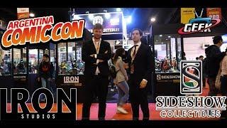 Comic con 2018 Sideshow Iron Studios y todo sobre y lo mejor de  Knowhere Collectibles