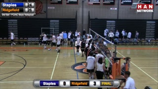 HAN Sports: Staples at Ridgefield Boys Volleyball 4.19.17