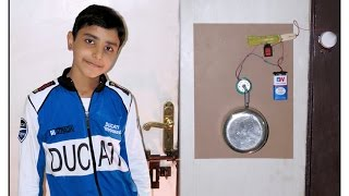 How to Make a Perfect Door Alarm Easily At Home - Theft Alert Alarm by Sahil Sachdeva