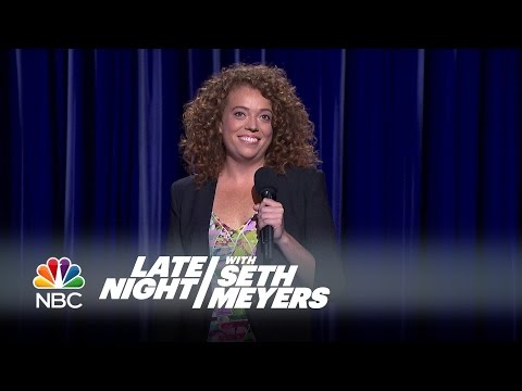 Michelle Wolf Stand Up Performance Late Night with Seth Meyers