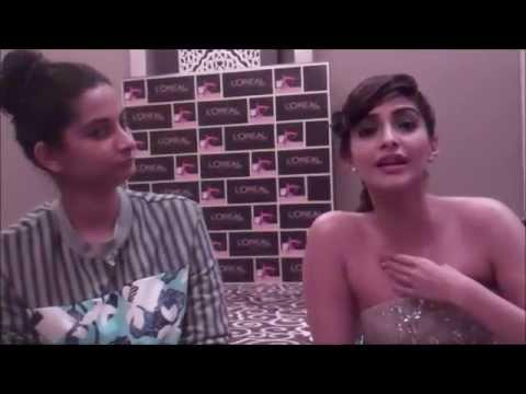 Actress, Sonam Kapoor & her sister/fashion stylist Rhea Kapoor talk Street Style on BandraRoad