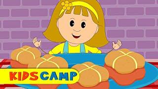 Hot Cross Buns   Nursery Rhymes   Popular Nursery Rhymes by KidsCamp