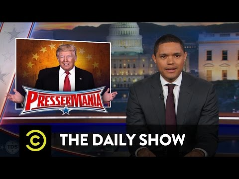 Processing Trump s Press Conference The Daily Show
