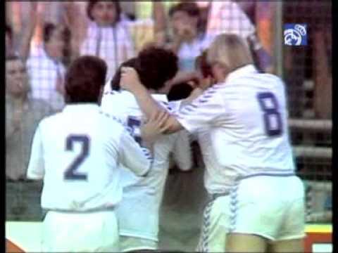 Real Madrid recuerda chilena de Hugo Sánchez
