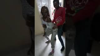 Kenyan LUO CRAZY girl rubbing