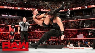 Roman Reigns vs. Finn Bálor - Universal Championship Match: Raw, Aug. 20, 2018