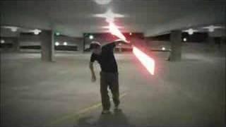 CONCRETE HUSTLE lightsaber duel