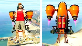 GTA 5 DOOMSDAY DLC - THE JETPACK IS REAL!! (GTA 5 Online)