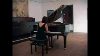 Johannes Brahms, Klavierstücke op. 118 n.1, Giulia Avellina pianista