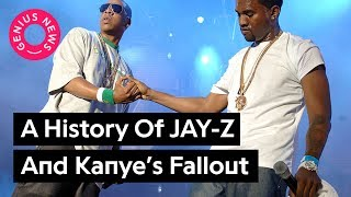 """From """"Big Brother"""" to """"Kill Jay Z"""" - A Timeline Of Jay And Kanye's Fallout 