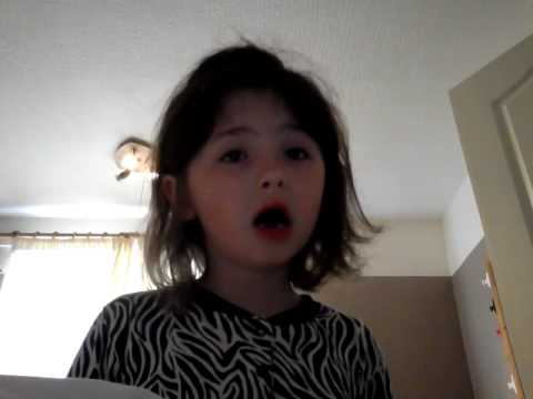 Debony singing let it go off  frozen xxxxxx