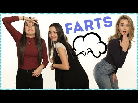 FARTING IN FRONT OF A BOYFRIEND w/ The Merrell Twins & ThatGibsonGirl