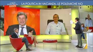 Ricci (PD) vs Zurlo (Il Giornale): 'Libia, il vero livore è per la caduta di Berlusconi'