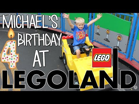Michael s 4th Birthday Party at LEGOLAND