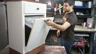 DIY Garbage Cabinet