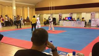Taekwondo SUKIPT 2018- Syahmi VS Nor Aidil