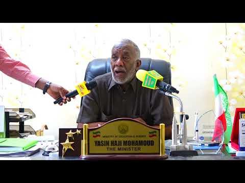 Xxx Mp4 Wasiirka Waxbarashada Somaliland Oo Shaaciyay Wakhtiga Lagali Doono Imtixaanka Shahadiga Ah 3gp Sex