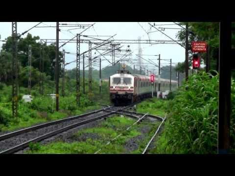 AMUL WAP-5 Hauled 12009 Mumbai - Ahemdabad Shatabdi Express Overtaking DI - BOR Passenger!!!!!