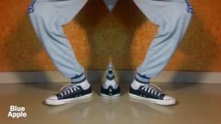 Magical Popping Footwork Dance   Sunil Vishwakarma   Blue Apple Dance Academy