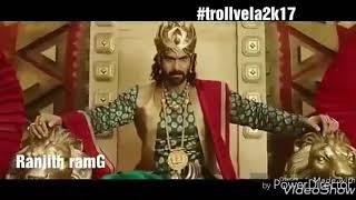 Bahubali comedy remix/ TVM DA