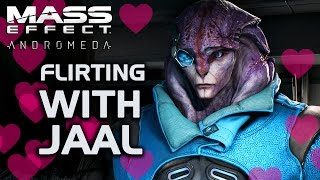Mass Effect Andromeda - Flirting with Jaal ❤