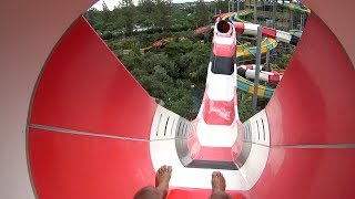 Coaster Volcano Water Slide at Jogja Bay Waterpark