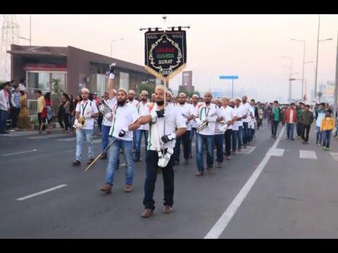Shabab-ul-Eidiz Zahabi Band Div. Surat (SEZ) performing at Uturn