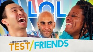 People Try Laughter Yoga • The Test Friends