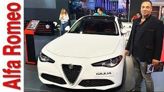 الفا روميو جوليا الجميله الإيطاليه Alfa Romeo Giulia Review