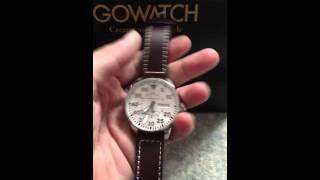 HAMILTON Khaki King Pilot Silver Dial Automatic Men's Watch H64425555