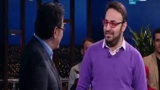 لحظة ظهور أحمد يونس مع الإعلامي خيري رمضان فى اخر النهار