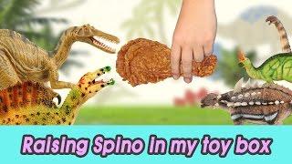 [EN] #51 Raising Spino in my toy box! kids education, Dinosaurs animationㅣCoCosToy