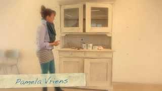 Annie Sloan Chalk Paint™ en wax aanbrengen in 6 minuten (NL)
